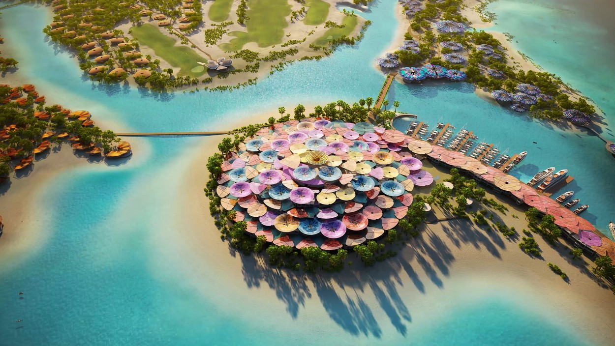 The island holiday paradise planned for the Red Sea