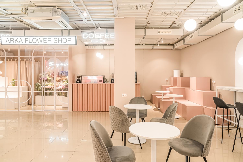 ARKA Flower Shop Maly Krasota Design 02