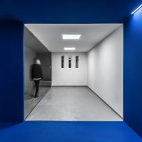 Blue Cube por Darkefaza 07