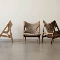 Knitting lounge chair Ib Kofod-Larsen 01