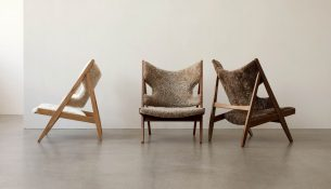 Knitting lounge chair Ib Kofod-Larsen 01