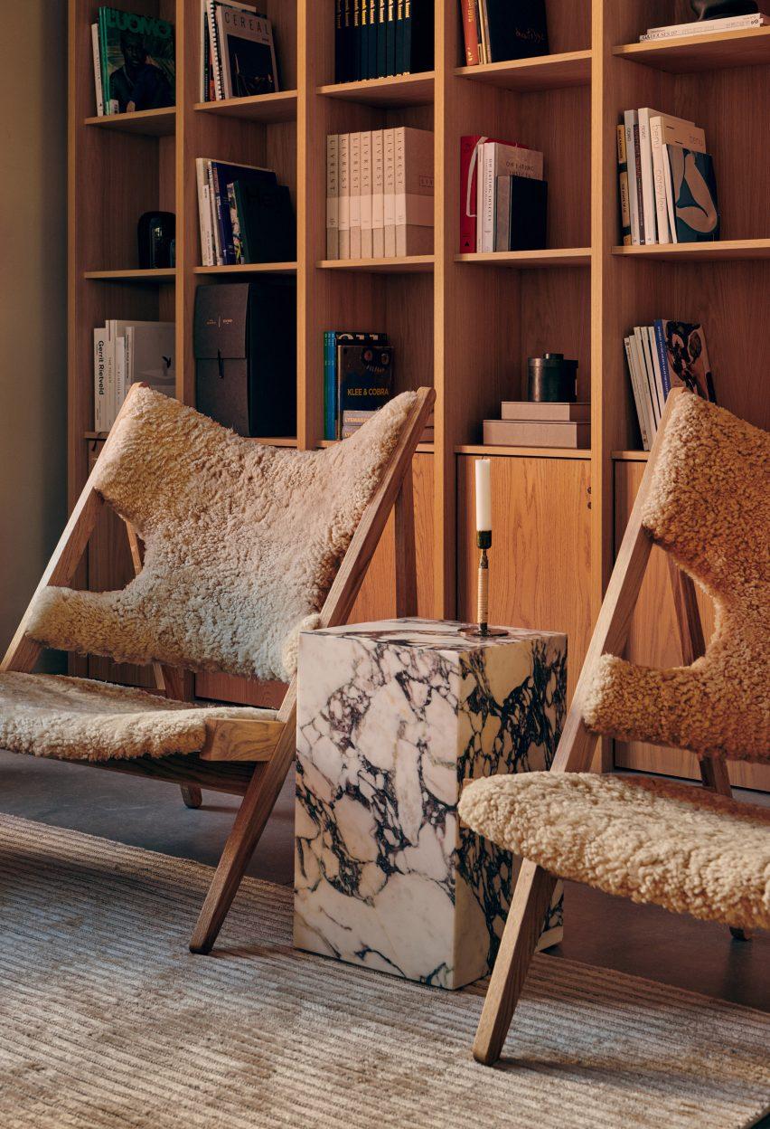 Knitting lounge chair Ib Kofod-Larsen 04