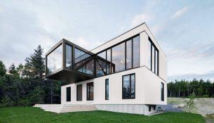 Le Chalet Blanche ACDF Architecture 01