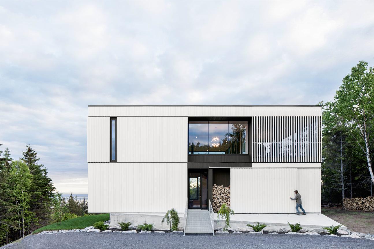 Le Chalet Blanche ACDF Architecture 08