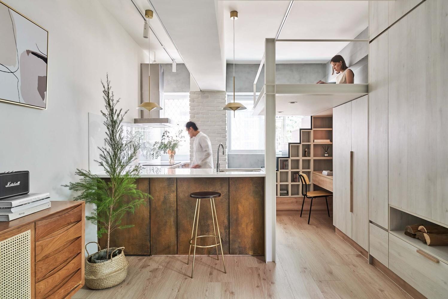 Miǎo Miǎo Apartment NestSpace Design 01