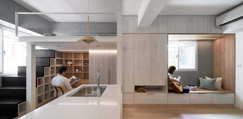 Miǎo Miǎo Apartment NestSpace Design 02