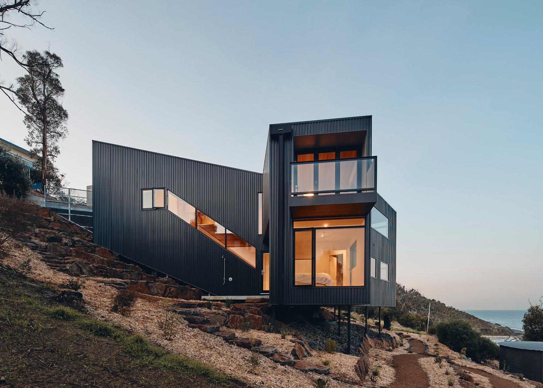 Y house por Andrew Simpson Architects 07