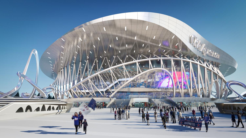 CKA Arena and Park Coop Himmelb(l)au 01