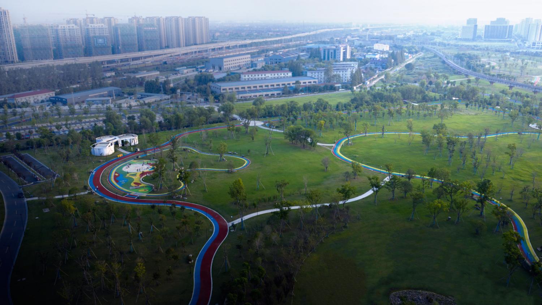 Linping Sports Park Rest Station CCTN Design 01