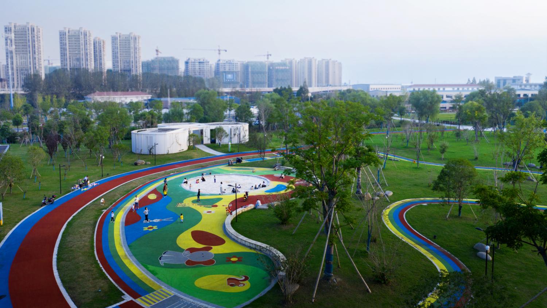 Linping Sports Park Rest Station CCTN Design 03