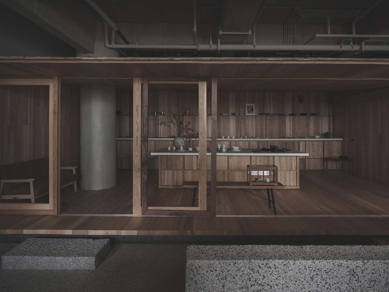 Lost & Found OōEli Store B.L.U.E Architecture Studio 01