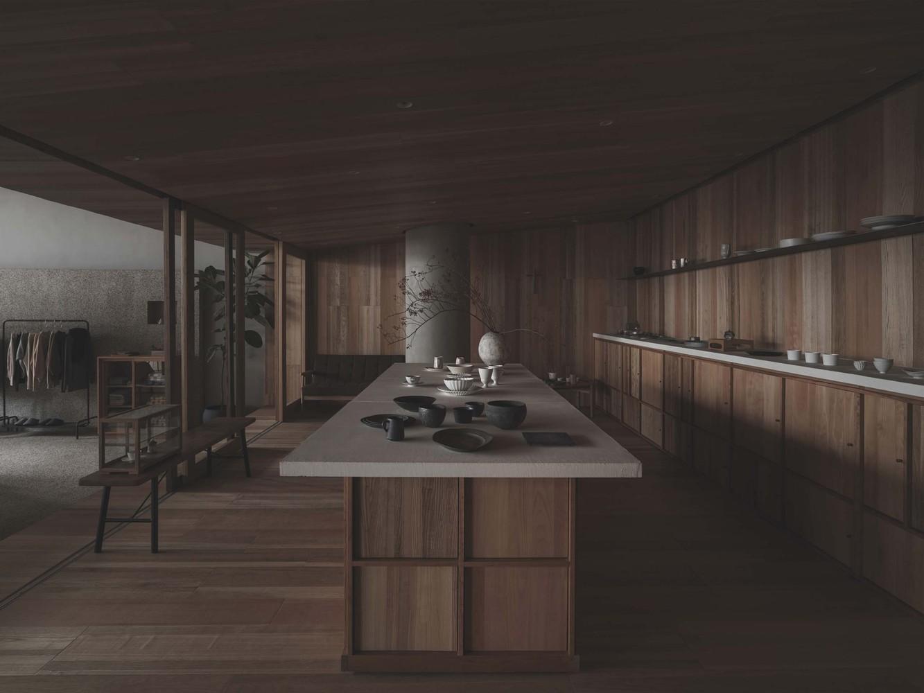 Lost & Found OōEli Store B.L.U.E Architecture Studio 03