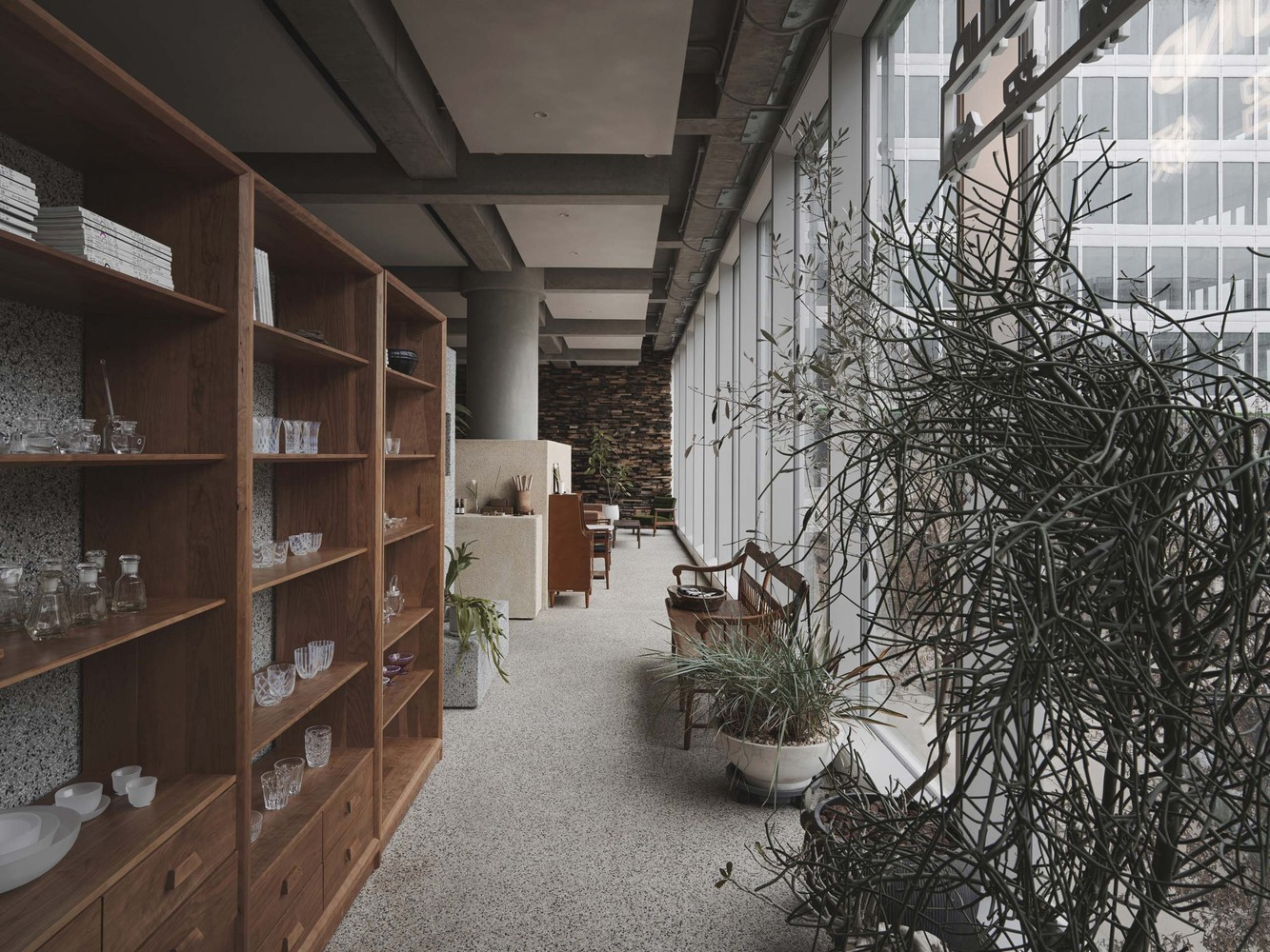 Lost & Found OōEli Store B.L.U.E Architecture Studio 07