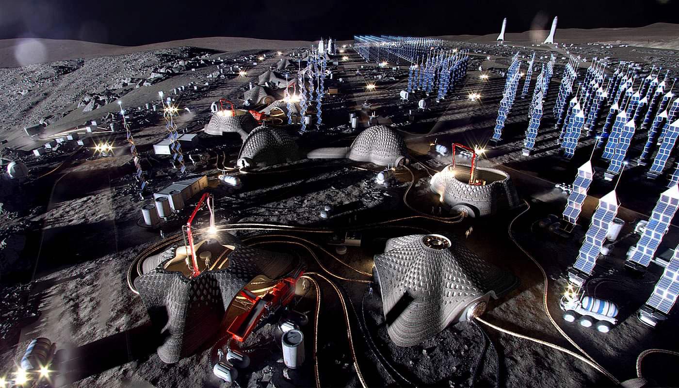 Moon Village SOM y European space agency 03
