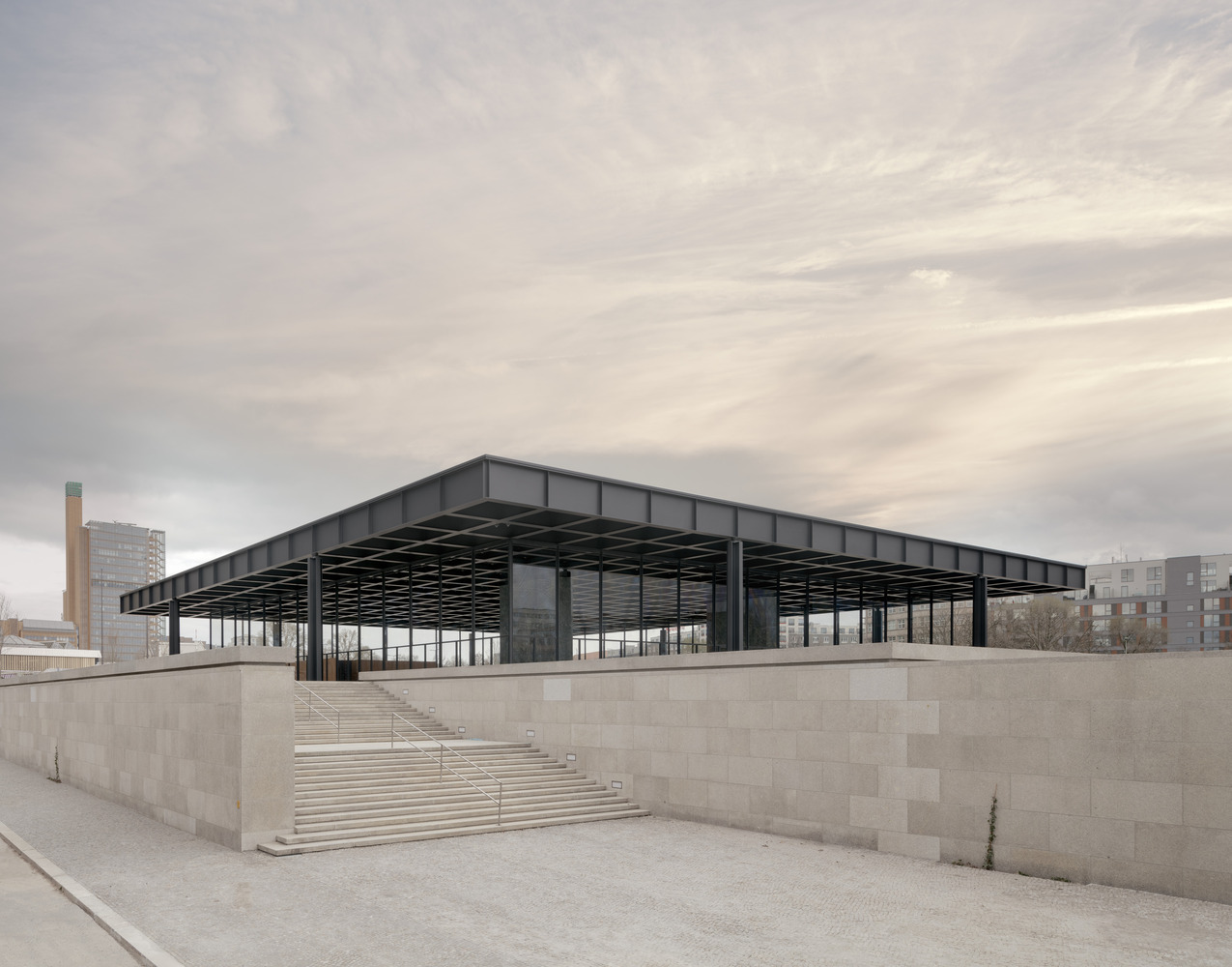 Neue Nationalgalerie David Chipperfield Architects 02