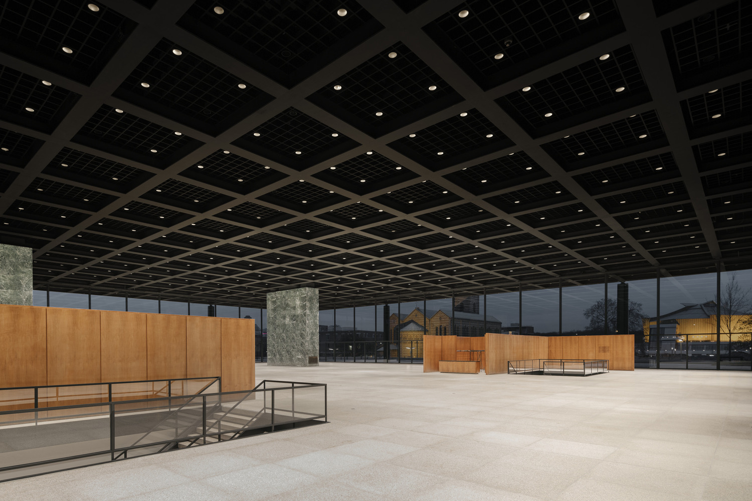 Neue Nationalgalerie David Chipperfield Architects 06