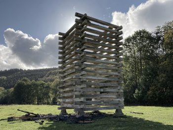 Waldbrand Installation Christoph Hesse Architects 06