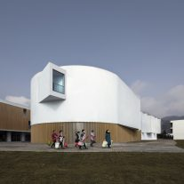 YingYao Sandware Museum Complex a9architects 04