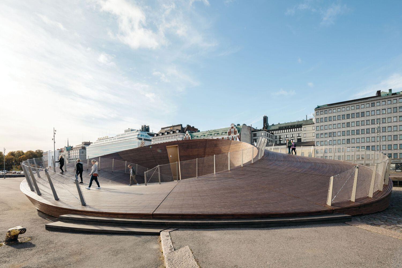 20201028 VERSTAS ARKKITEHDIT, Kauppatorin paviljonki, Helsinki