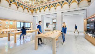 New Apple Store Via del Corso Foster+Partners 05