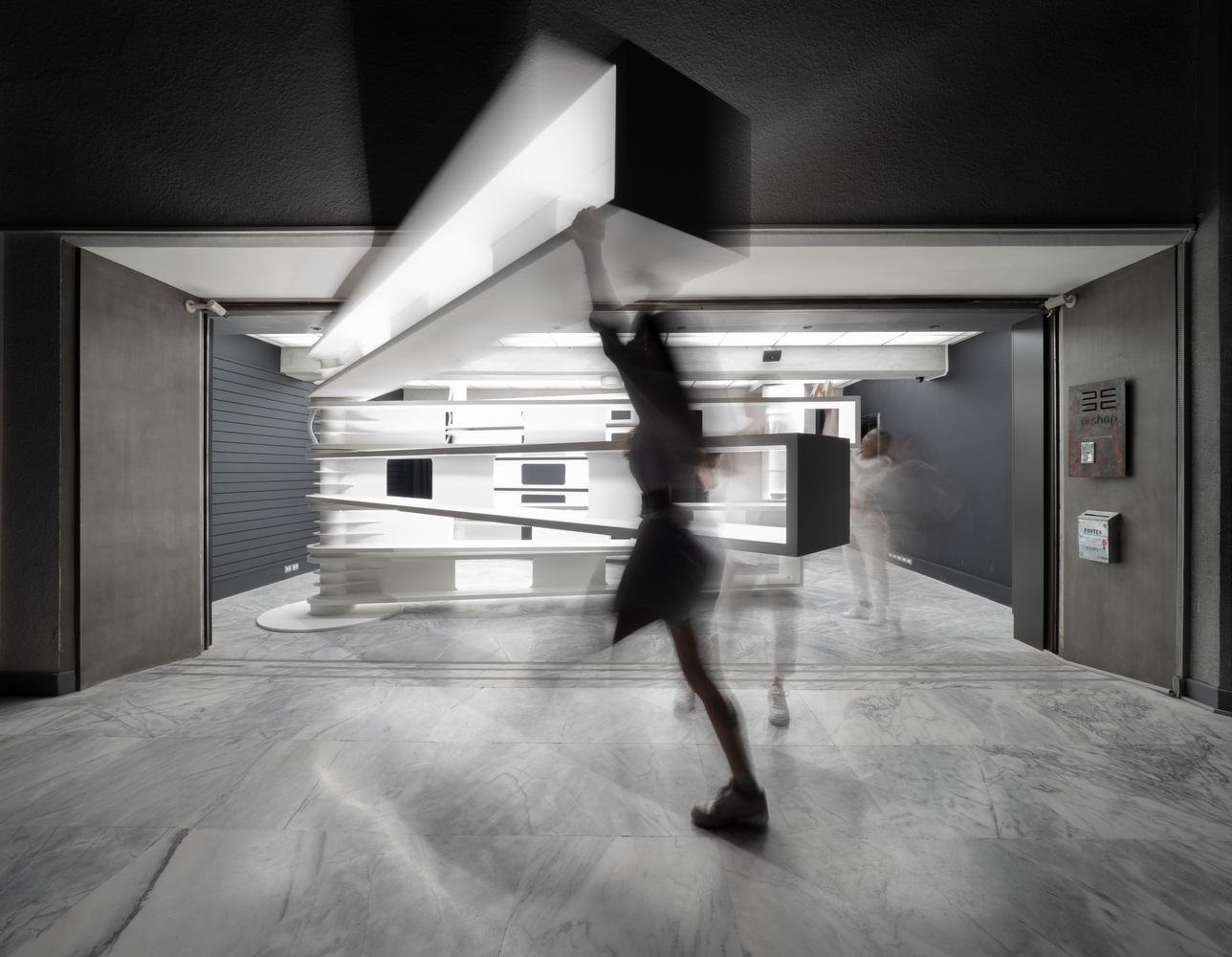 Taipei Fine Arts Museum Store por JC Architecture