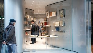 Antiquarian Book Shop in Jimbocho n o t architects studio 02
