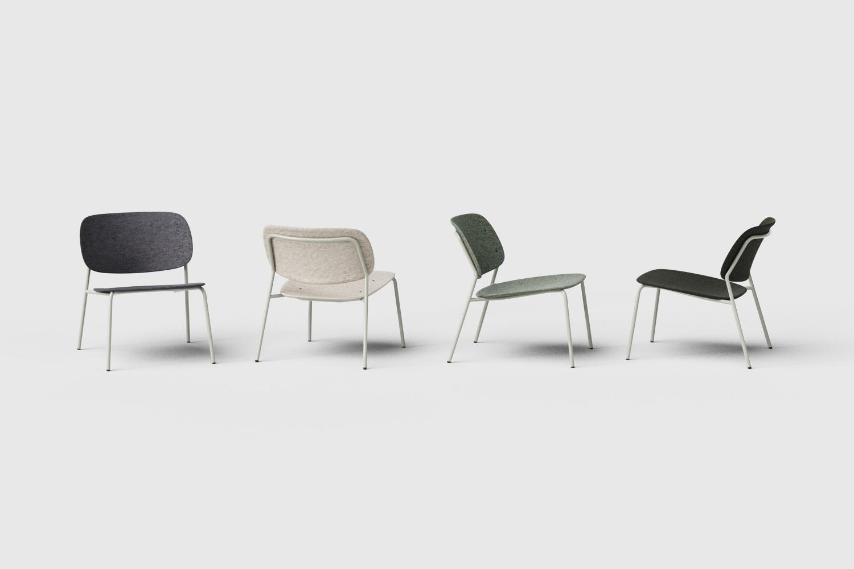 Hale PET Felt lounge chair De Vorm 05