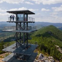 New Steel Frame Watchtower for Ecotourism Álvaro Siza 02