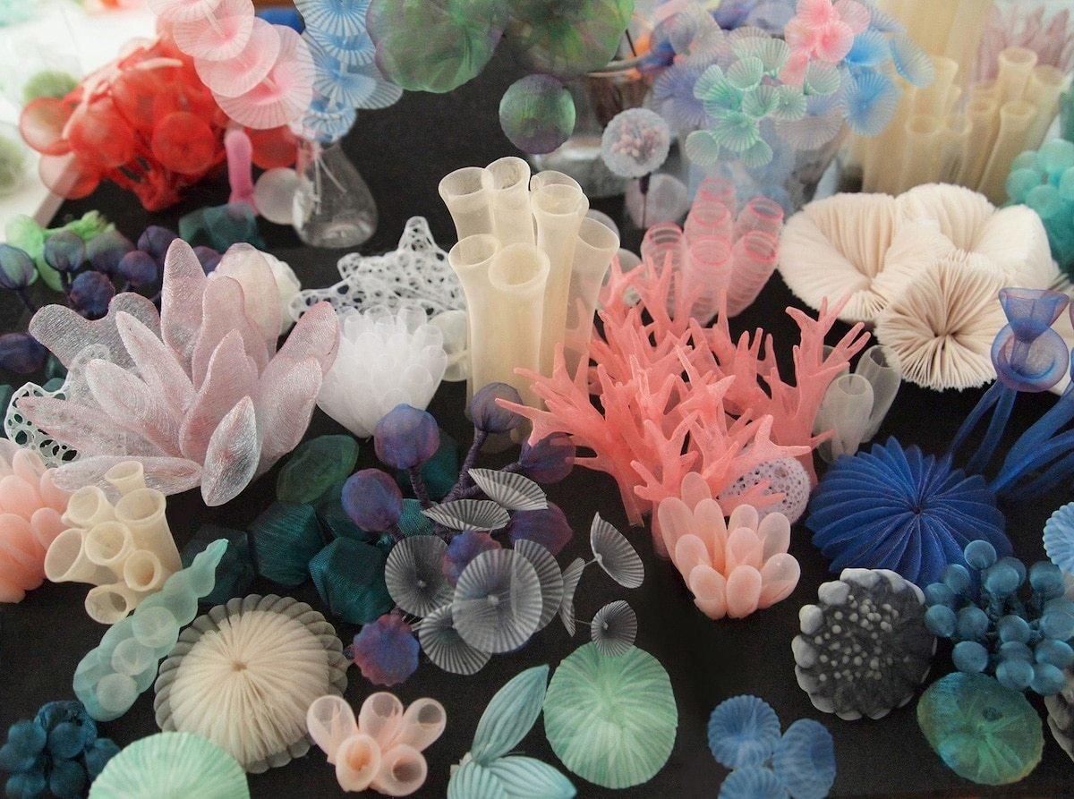 Textile Sculptures Mariko Kusumoto 01