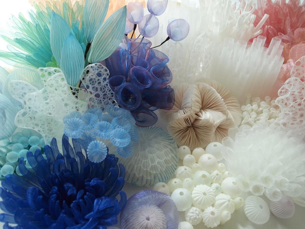 Textile Sculptures Mariko Kusumoto 04