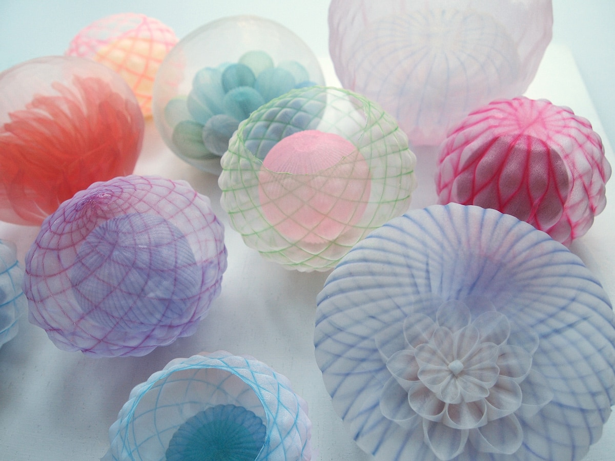 Textile Sculptures Mariko Kusumoto 07