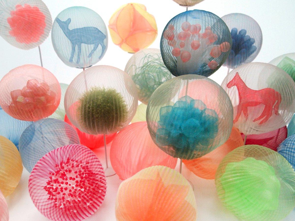 Textile Sculptures Mariko Kusumoto 08