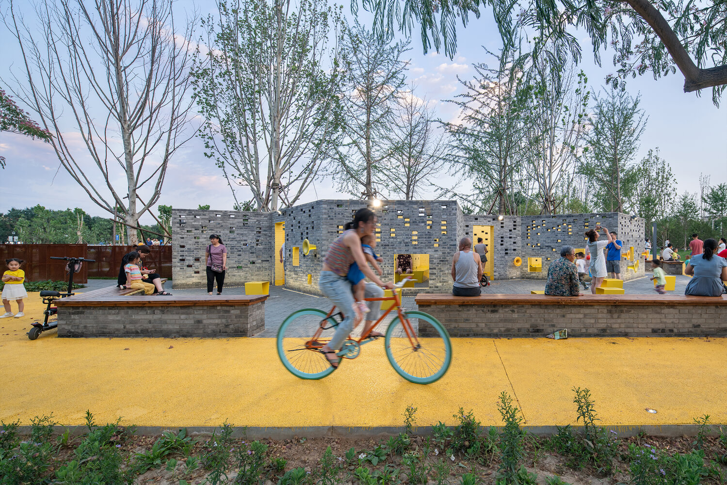 Songzhuang Micro Community Park Crossboundaries 02