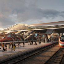 Vilnius railway station complex Zaha Hadid Architects 01