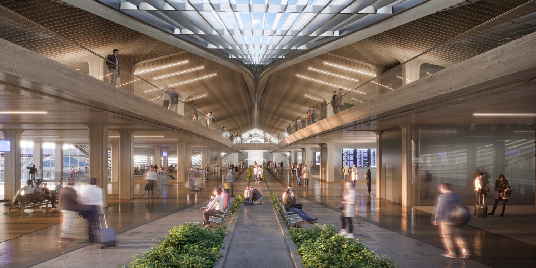 Vilnius railway station complex Zaha Hadid Architects 05