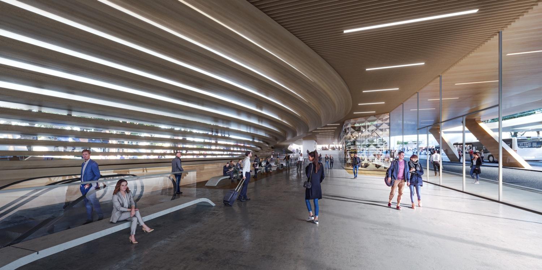 Vilnius railway station complex Zaha Hadid Architects 06